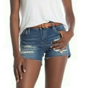 Blank NYC Distressed Jean Shorts